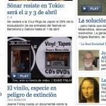 """EL PAIS: """"El vinilo, especie en peligro de extinción"""""""
